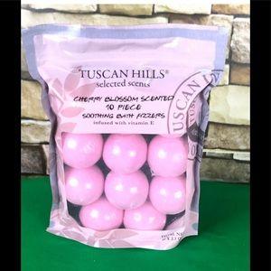 Tuscan Hills Cherry Blossom Bath Bombs 10 Pack